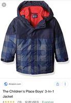 Термо куртка children place 3в1