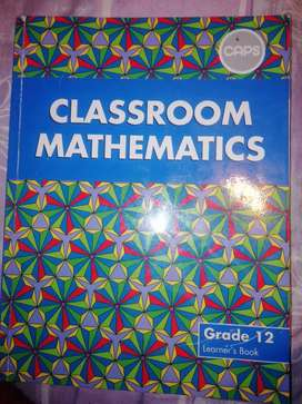 Classroom mathematics for grade 10 to 12 students and teachers