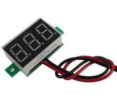 Вольтметр Цифровой 12 DC 2.5-30v два провода