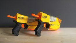 Pistolety Nerf, dwie sztuki, kompatybilne z Nintendo