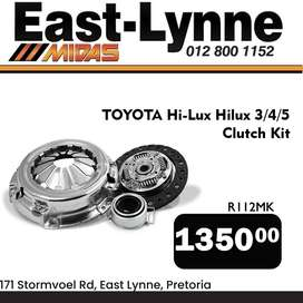 Toyota Hilux Clutch Kit ONLY R1350!