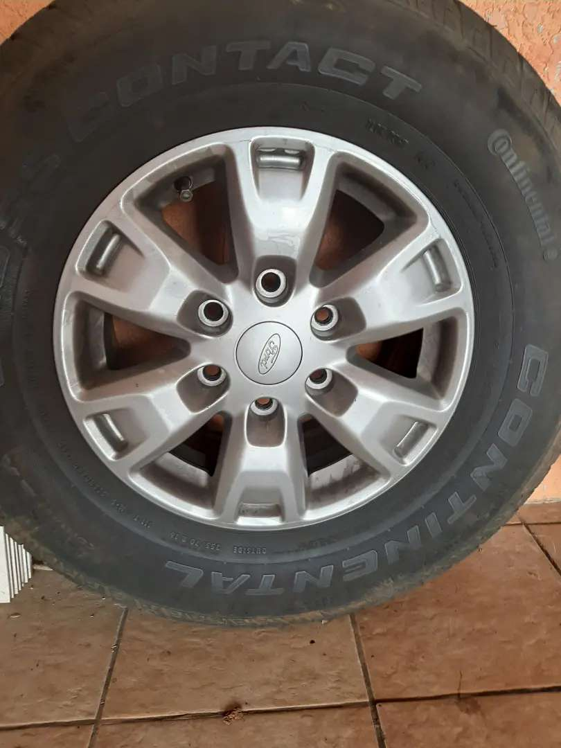 Ford Ranger Original Rims and Tyres