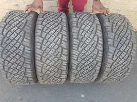 TYRES 255/55/18 GENERAL GRABBE