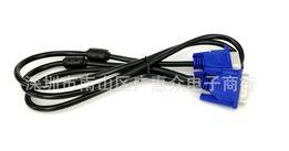 Кабель VGA для монитора 1.5м с ферритовым кольцом ТОЛСТЫЙ шнур