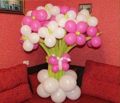 Оформление воздушными шарами , цветы из шариков , гелиевые шары
