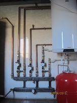 Монтаж твердопаливних котлів. Системи опалення,водопостачання.