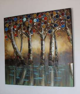 ART ZK - Enchanted Forest 100X100 For Sale