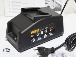 REMS ladowarka 22v li-ion prasa zaciskarka bateria
