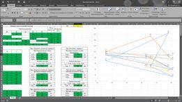Напишу файл Excel