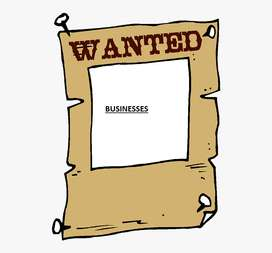 Businesses urgently wanted !1001