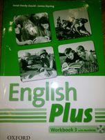 Продам English Plus Workbook 3 б/у