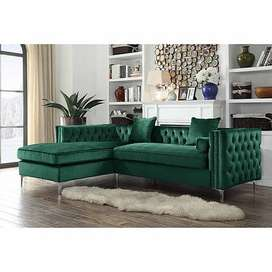 Chesterfield L shape corner couch (pay on delivery option available)