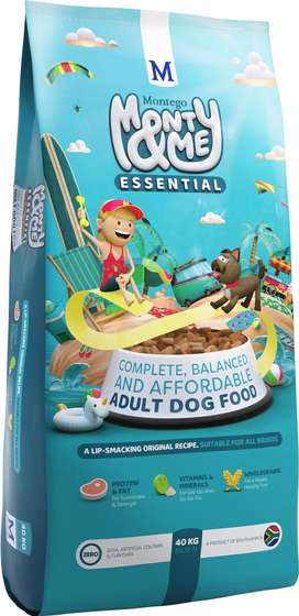 Monty & Me Essential All Breed Adult Dog Food