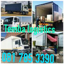 Removals service furniture and rubble