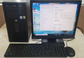 HP Compaq DX2200 - Windows 10 Pro Black Desktop PC - 2.8 GHz Intel Pen