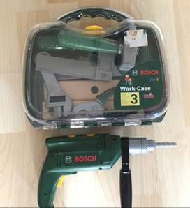 Bosch mini toy tools (work case and drill)