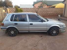 Toyota Tezz 1.3 good condition but need some touch ups