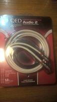 Продам межблочный кабель QED Performance Audio 2, RCA, длина 1 метр