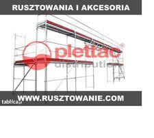 Rusztowanie Plettac - zestaw 108 m2