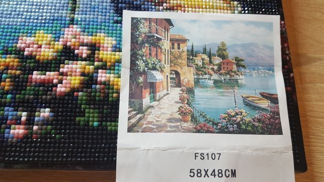 Картина.(Алмазная живопись) Мариуполь - изображение 2