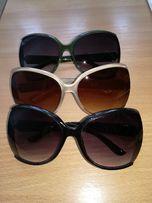 Okulary słoneczne, różne kolory oprawek