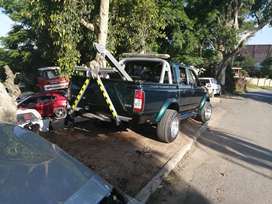 Nissan tow truck fully rigged ready to work