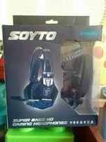 Игровые стерео-наушники Soyto SY-850 MV
