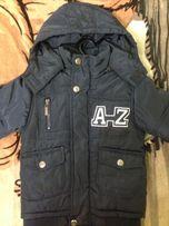 Куртка зимняя на 4 года