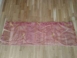 Штора тюль фіранка декор для вікон тканина занавеска