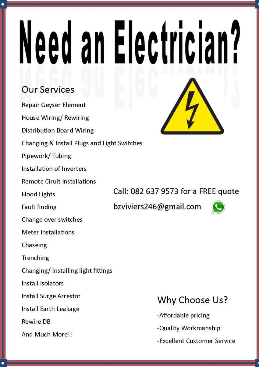 Electrician Port Elizabeth