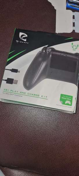 Piranha play and charge kit for xbox one