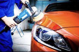 Полірування авто фар автомобіля