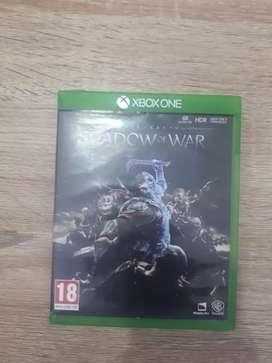 Shadow of war Xbox one game