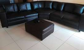 Euroleather Couch Set for sale
