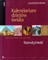 Kalendarium dziejów świata : historia, religia, literatura, sztuka