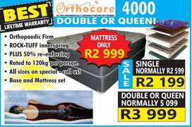 double or queen orthopaedic bedsets