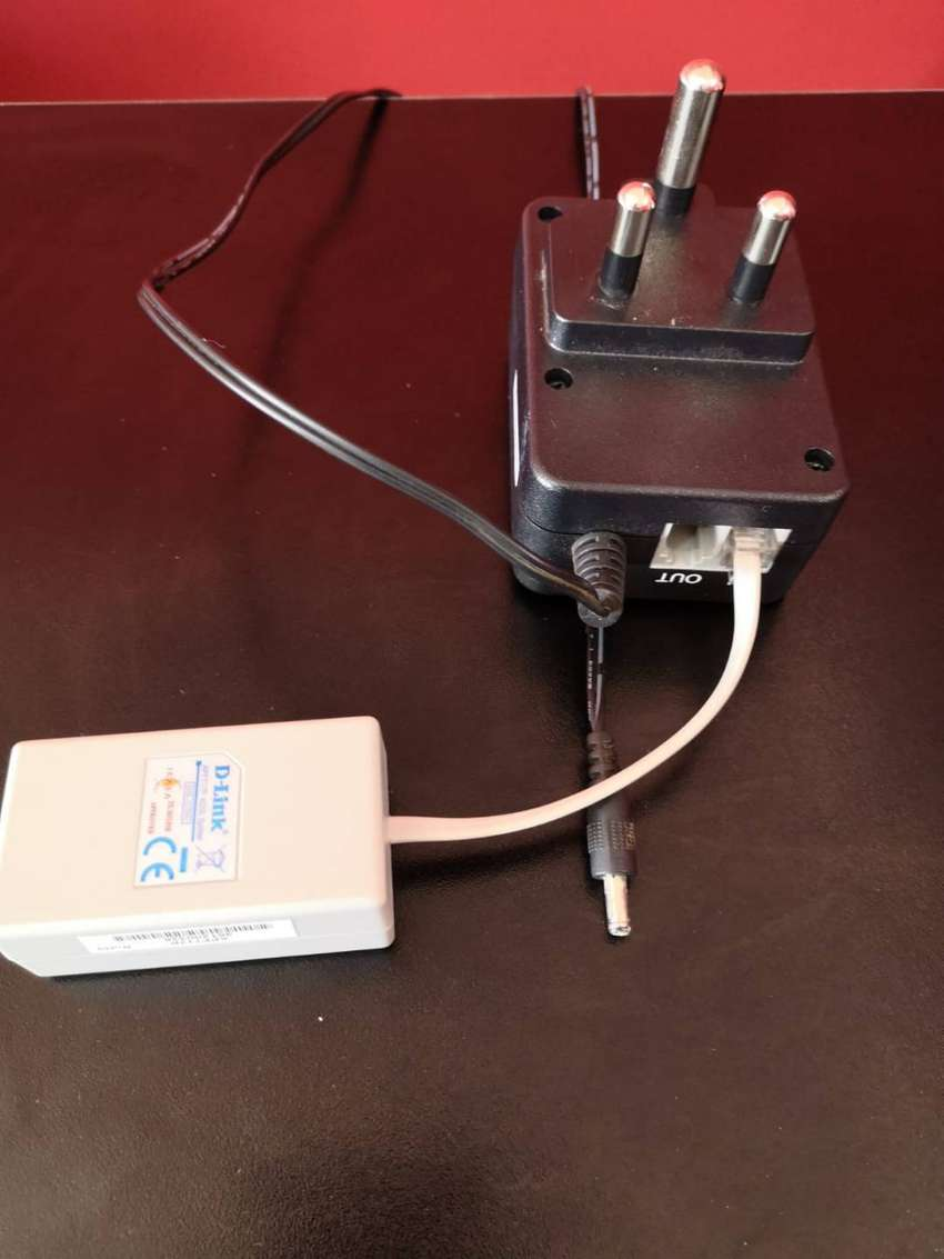 D link switching adapter and adsl splitter 0
