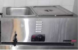 anvil bain marie two inserts