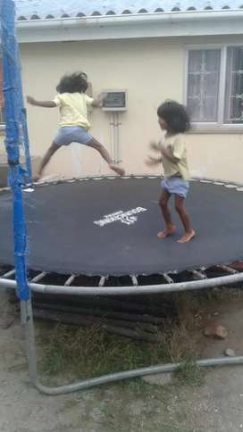 10ft bounce king trampoline