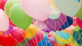 Воздушные шары белые прозрачные серебристые золотые шарики из фольги