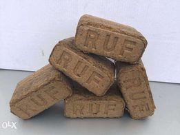 Брикет из опилок RUF - ДУБ идеальное топливо для котла, печи, бани.