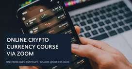 ONLINE CRYTOCURRENCY ZOOM COURSE
