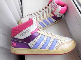 Кроссовки Adidas neo ботинки высокие кеды Nike force 35р.-21,5см