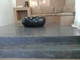 Cement floors and walls. Best prices and excellent service!