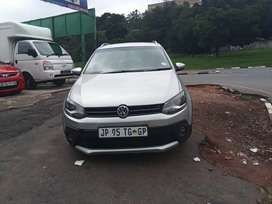 2012 VW CROSS POLO WITH AN ENGINE CAPACITY OF 1,4