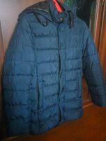 Продам хорошую мужскую теплую зимнюю курку пальто пуховик