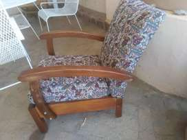 Chair wooden, in good condition
