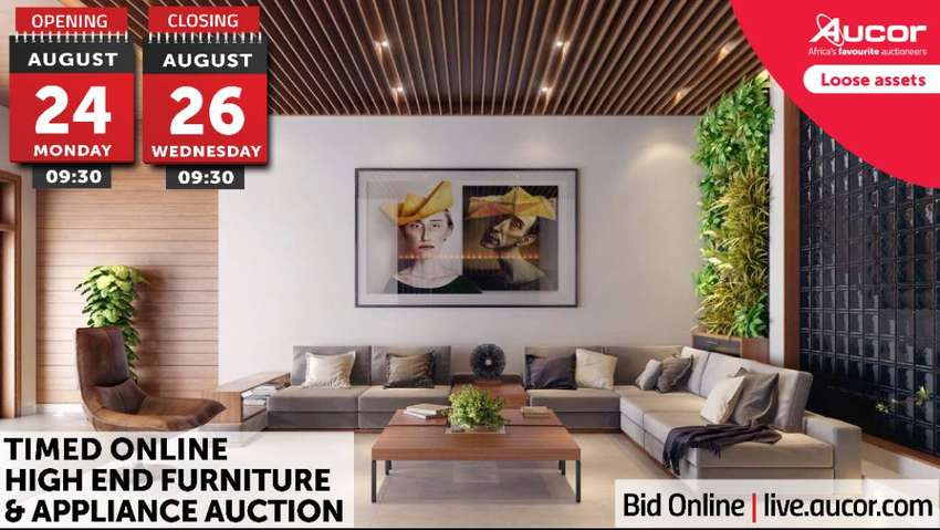 Timed Online High End Furniture & Appliance Auction 0