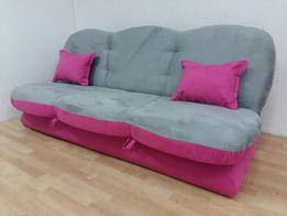 Wersalka sofa kanapa tapczan rozkładana z pojemnikiem na pościel