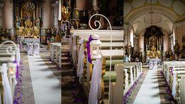 Stojak z latarnią - idealna dekoracja na ślub
